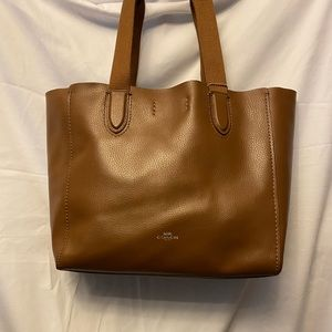 Coach Derby Tote- brown